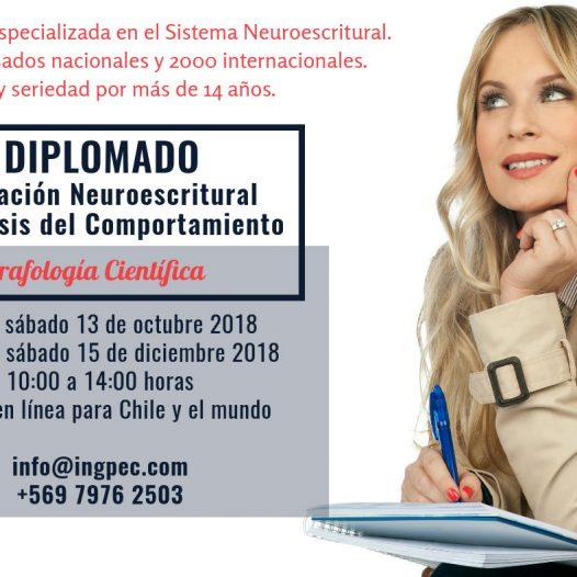Diplomado en evaluación neuroescritural y análisis del comportamiento (Grafología Científica)