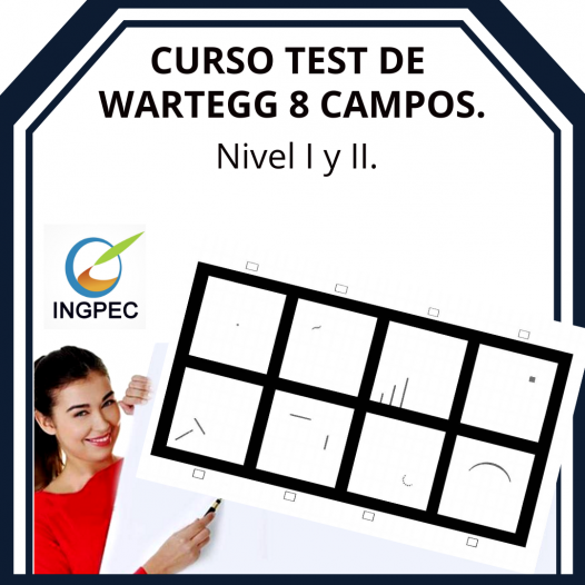 Curso Test de Wartegg. 8 campos. NIVEL I y II.